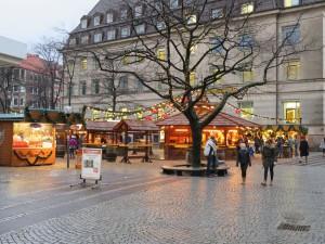 Asmus-Bremer-Platz Kiel Weihnachtsmarkt