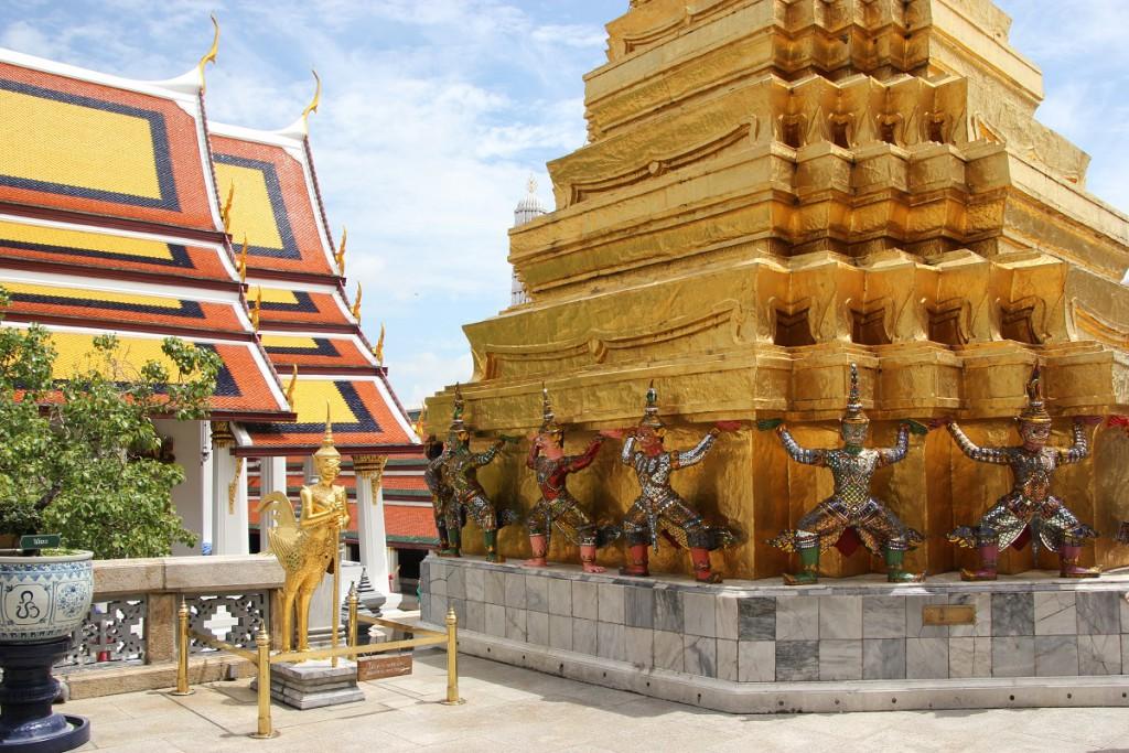 Großer Palast Bangkok in Thailand