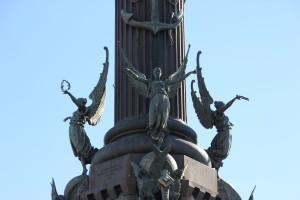 Kolumbussäule in Barcelona