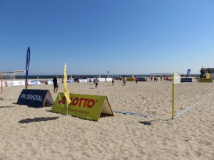 Beach Soccer Spielfeld Ostseebad damp