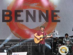 Benne auf der Kieler Woche 2015 auf der NDR-Bühne am Ostseekai am 28.06.2015