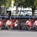 Bicing Barcelona Fahrradverleihstation