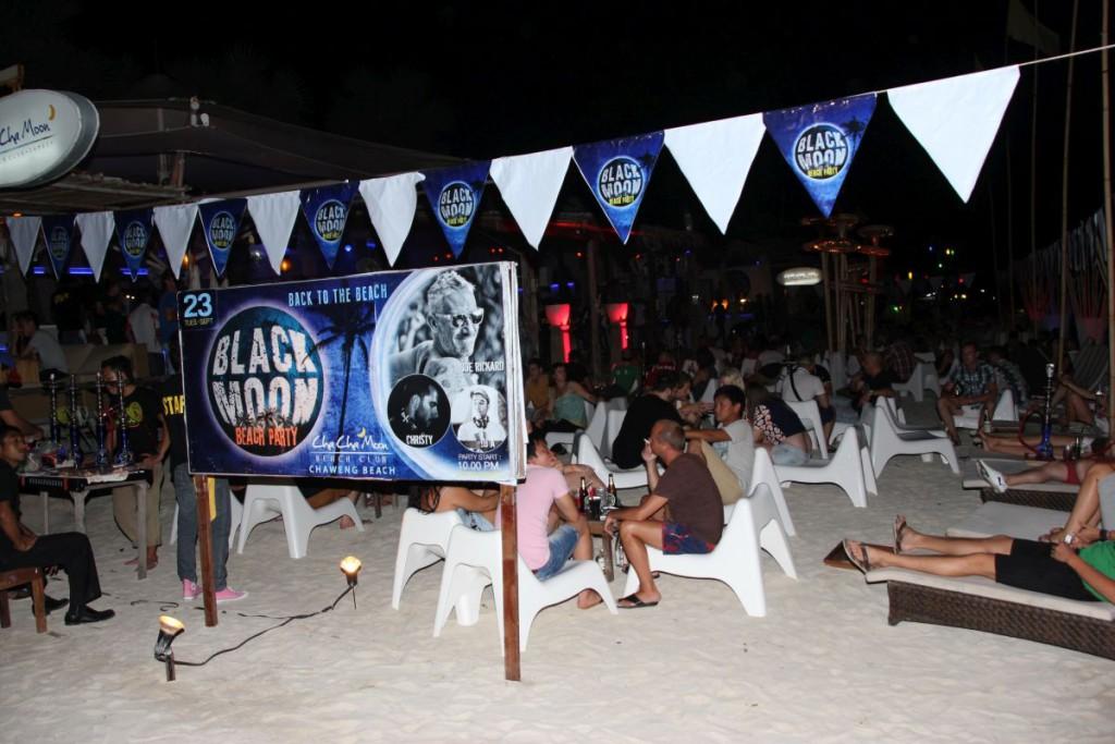 Black Moon Beach Party Chaweng Koh Samui