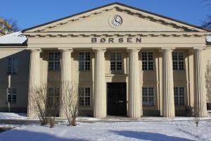 Börse Oslo in Norwegen - Wertpapierbörse mit Sitz in der norwegischen Hauptstadt Oslo