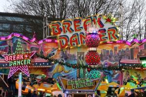 Break Dancer Rostock auf dem Weihnachtsrummel