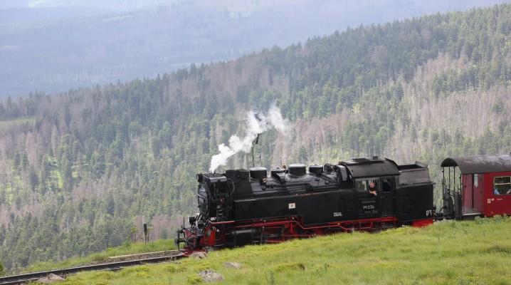 Brockenbahn auf dem Brocken
