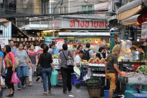 Markt / Shopping in China Town Bangkok, Thailand