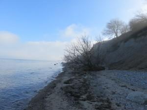 Dänisch-Nienhof Ostsee Steilküste