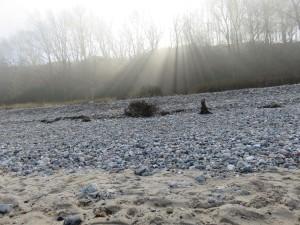 Dänisch-Nienhof Sonnenstrahlen Strand