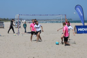 Damp Beach Soccer Tunier