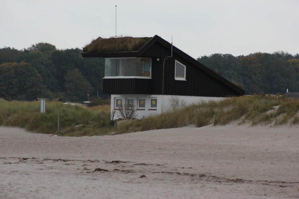 DLRG Station Sehlendorfer Strand an der Hohwachter Bucht