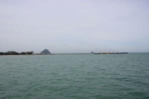 Donsak Pier in Thailand
