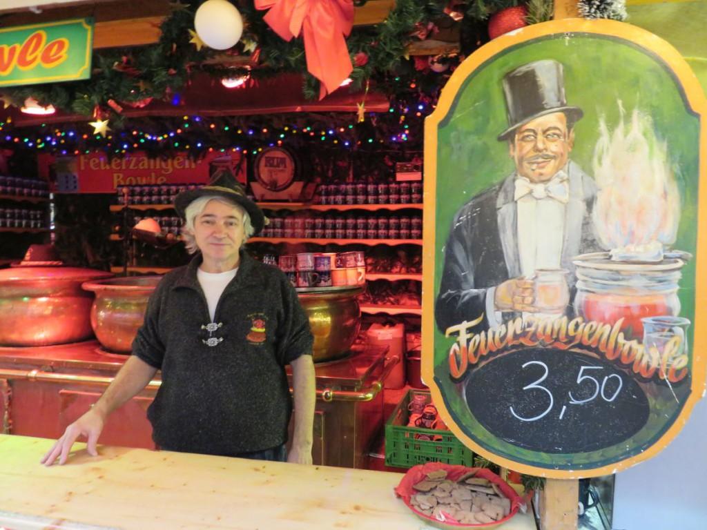 Feuerzangenbowle Kieler Weihnachtsmarkt