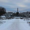 Frognerpark Oslo im Winter