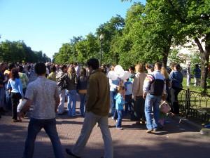 Gorki Park Moskau in Russland