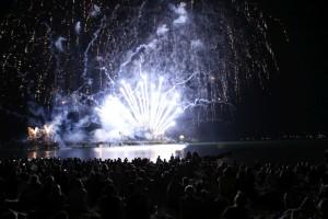 Ostsee in Flammen 2016 Grömitz Feuerwerk
