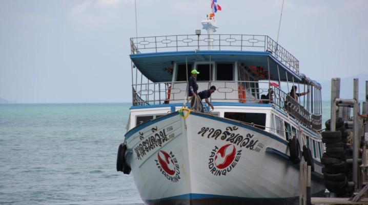 Haad Rin Queen - Fähre von Koh Samui nach Koh Phangan