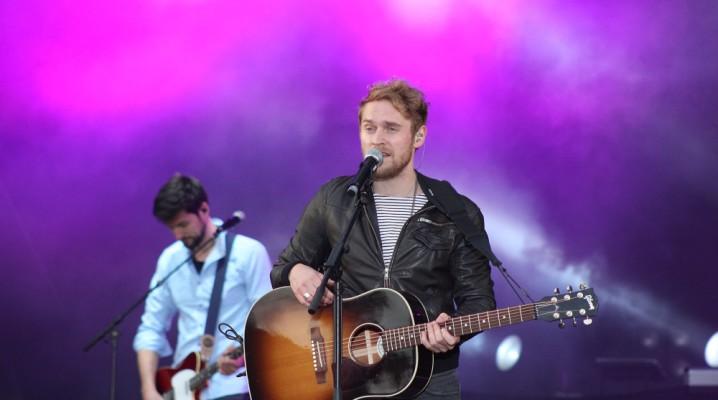 Johannes Oerding auf der Kieler Woche, NDR Bühne am 29.06.2013