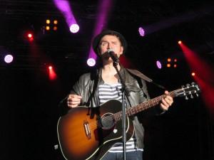 Johannes Oerding Kieler Woche 2015 live in Kiel auf der NDR-Bühne am Ostseekai