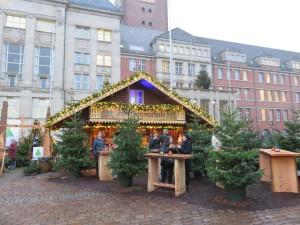 Kieler Weihnachtsdorf Forstbaumschule