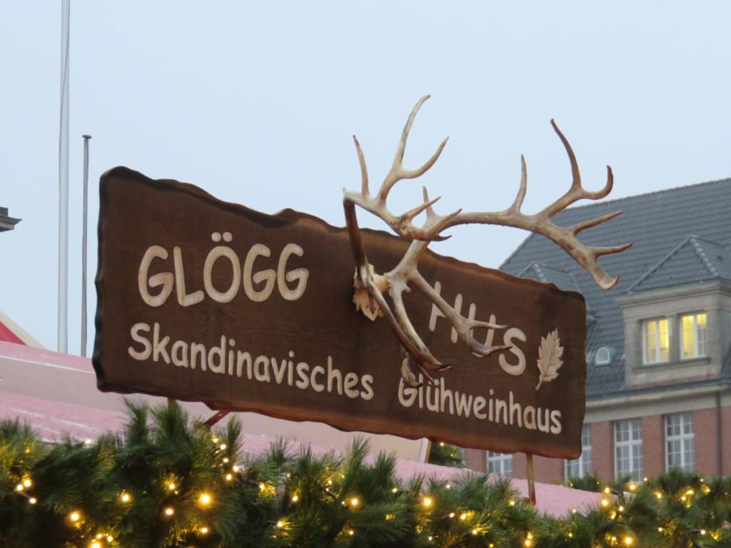 Kieler Weihnachtsdorf Glögg Hus