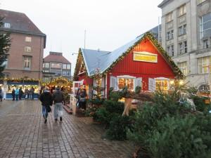 Kieler Weihnachtsdorf Käthe Wohlfahrt Haus