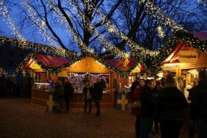 Weihnachtsmarkt Kiel 2017 auf dem Holstenplatz
