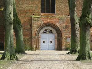 Eingangstür Kloster Rehna