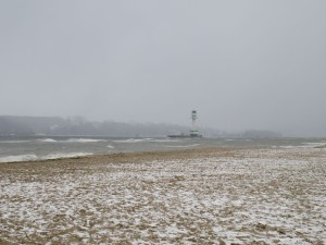 Friedrichsorter Leuchtturm im Winter
