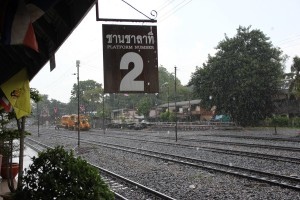 Bahnhof Lop Buri Gleis 2