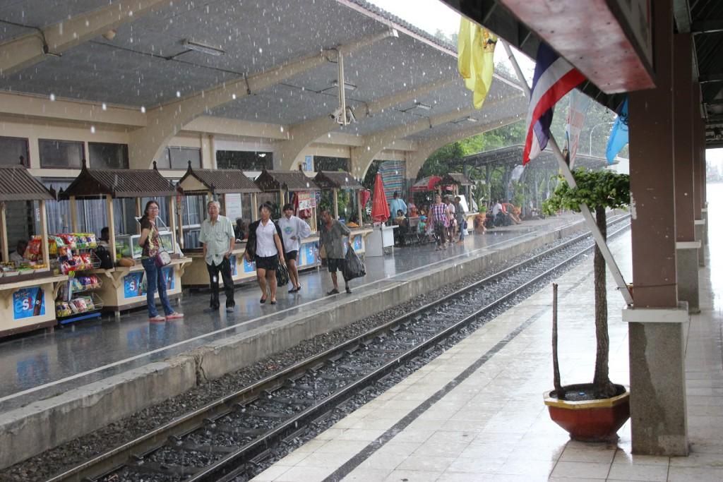 Bahnsteig in Lop Buri
