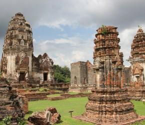 Tempelanlage in Lop Buri - Wat Phra Sri Rattana Mahathat