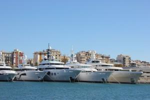 Marina Port Vell Yachthafen in Barcelona