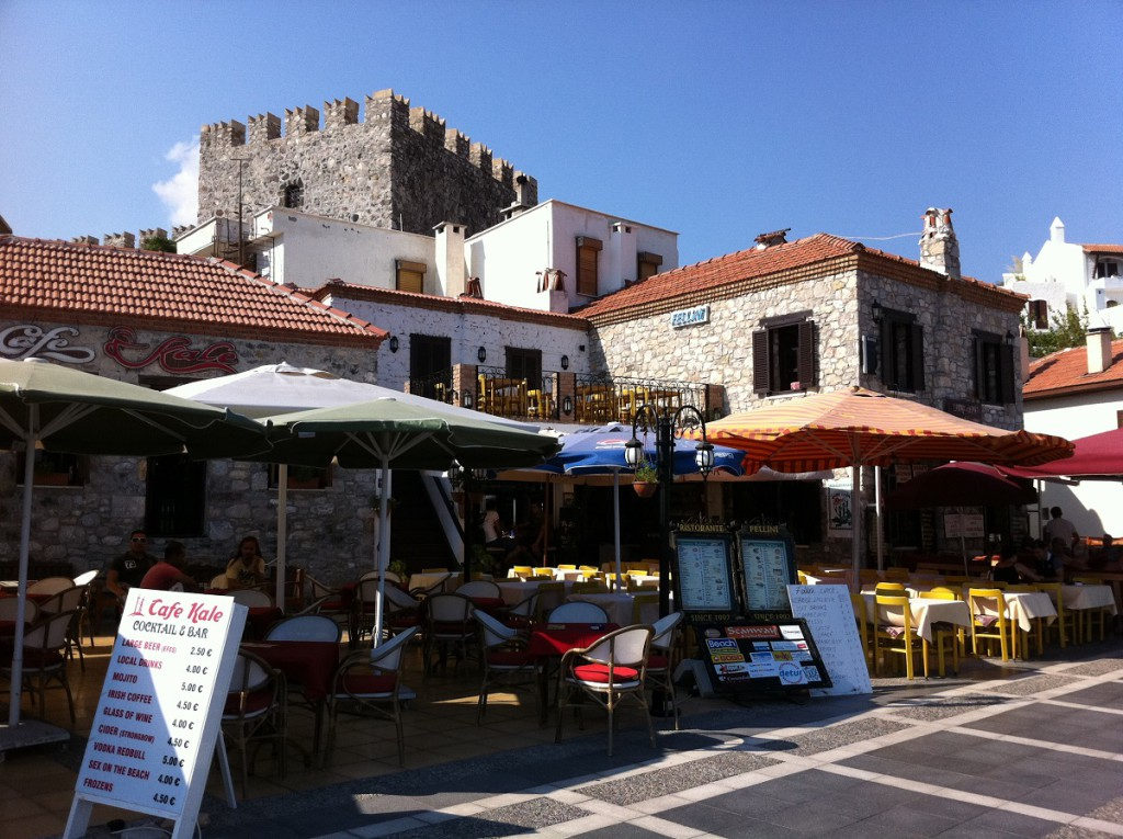 Restaurants an der Strandpromenade Marmaris