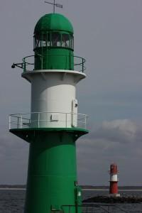 Molenfeuer Warnemünde an der Ostsee
