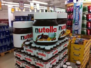 Mega Nutella Glas