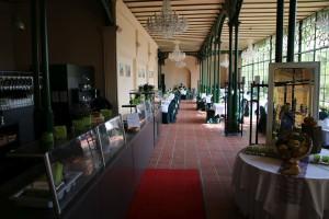 Café in der Orangerie im Schweriner Schloss
