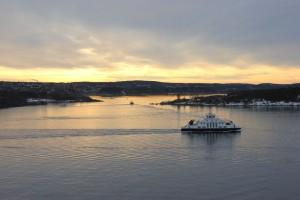 Fähre im Oslo Fjord
