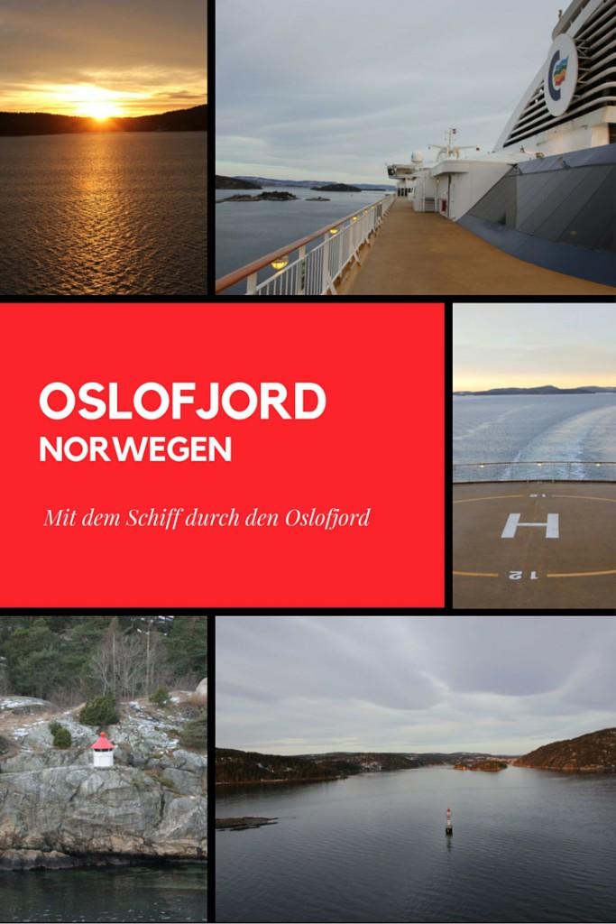 Mit dem Schiff durch den Oslofjord Norwegen - mit der Color Line von Kiel nach Oslo