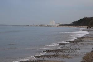 Ostsee Strand Diedrichshagen bei Warnemünde in Mecklenburg-Vorpommern