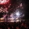 Ostsee in Flammen Feuerwerk am 26.08.2016 in Grömitz an der Ostsee