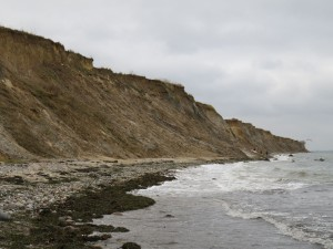 Ostsee Steilküste Stohl bei Kiel