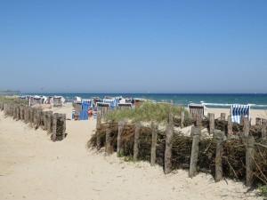 Strandkörbe Ostseebad Damp