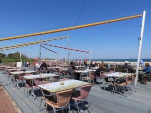 Ostseebad Damp Restaurant mit Meerblick
