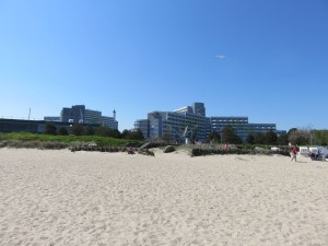 Ostseebad Damp Strand und Ostseeklinik