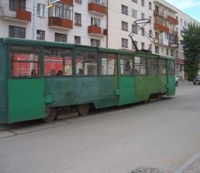 Straßenbahn in Perm