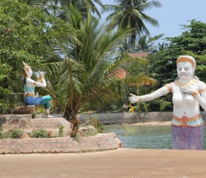 Phra Aphani Mani Statue Koh Samui