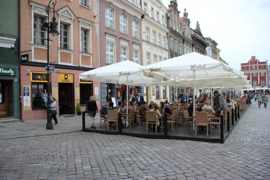 Alter Markt Posen in Polen