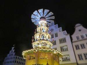 Pyramide Rostocker Weihnachtsmarkt