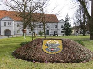 Rehna Stadtwappen